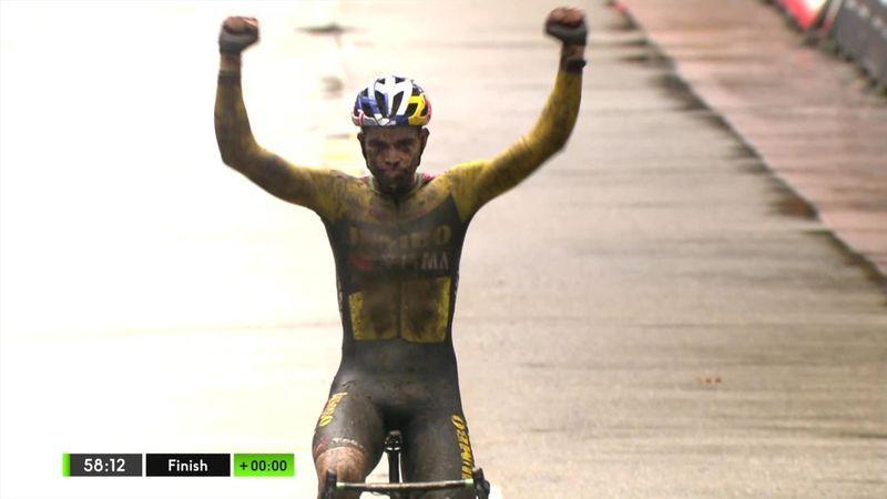 Cyclo cross Herentals - Erkekler finiş anları