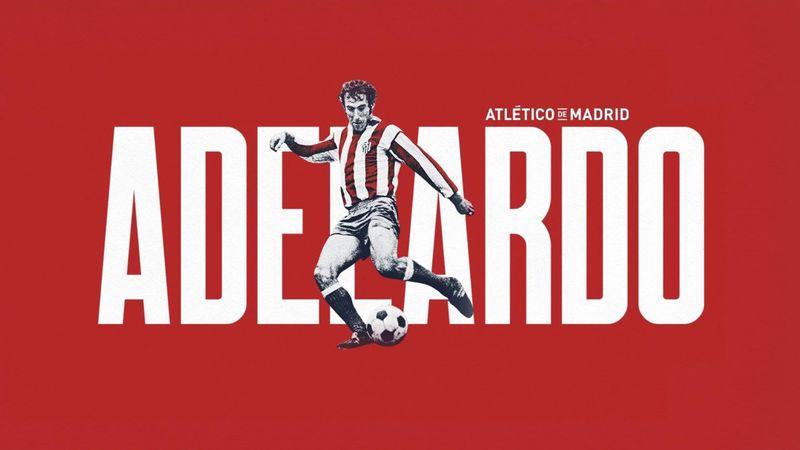 """Adelardo: """"Lo que yo he sentido por el Atlético es amor"""""""