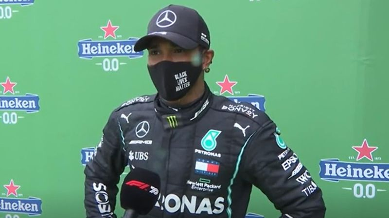 Hamilton says he is still 'on the up' after breaking Schumacher's record
