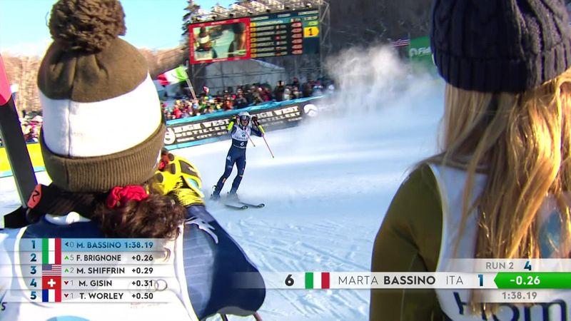 Marta Bassino s-a impus la Slalom Uriaș, la Killington