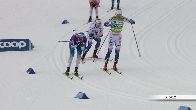 Ancora Svahn, sua anche la sprint di Falun