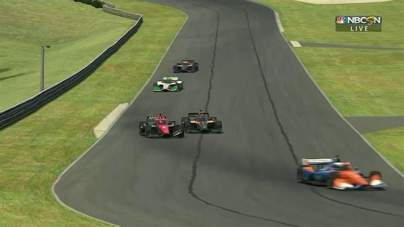 Ставший инвалидом из-за аварии экс-гонщик «Формулы-2» и IndyCar Series сел за виртуальный руль