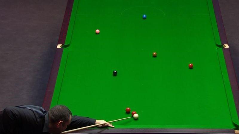 """""""Ist das gut"""": Maguire legt richtig ekeligen Snooker"""