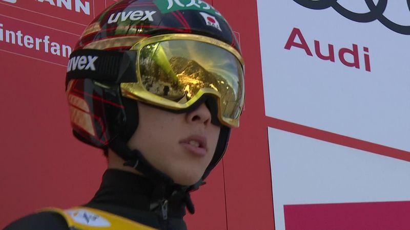 Kobayashi stabilisce il record asiatico in qualificazione a Planica: 248 m