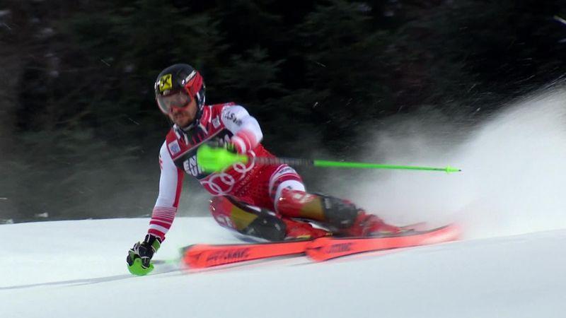 Alpine Skien | Hirscher wint in Zagreb na briljante tweede run