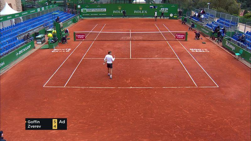ATP Monte Carlo: Goffin – Zverev összefoglaló