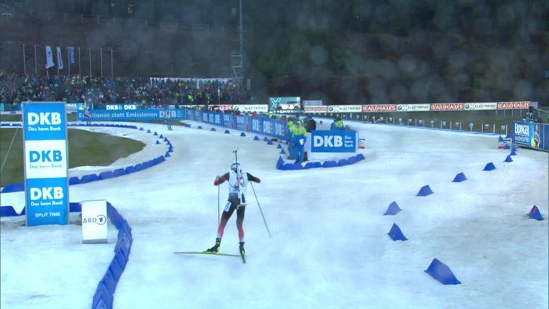 Biatlón, Oberhof: Error incomprensible de Tarjei Boe que le obliga a dar 'marcha atrás'