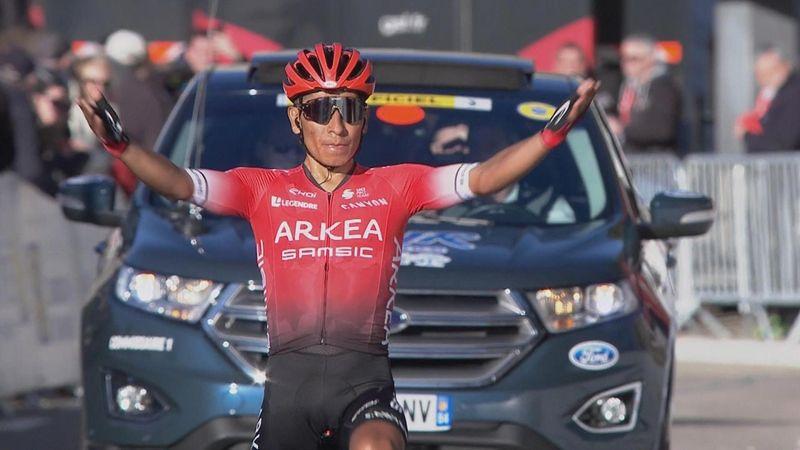 Ronde van de Provence| Quintana een klasse apart op de Ventoux