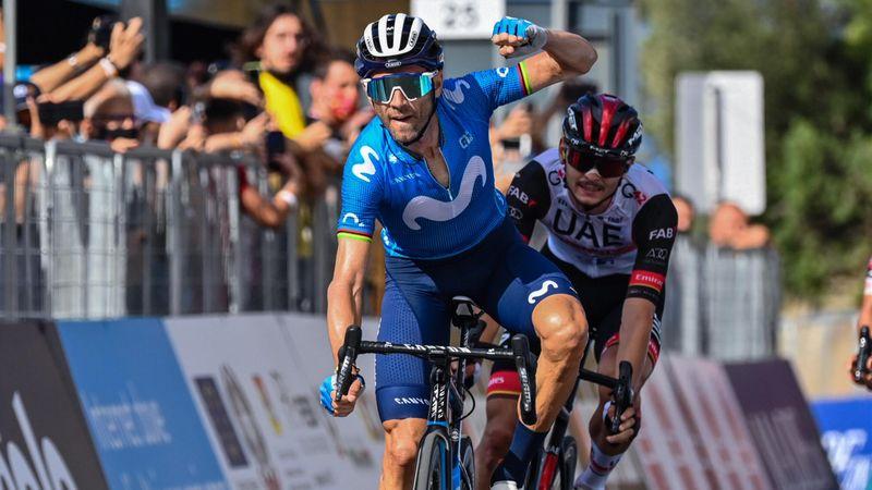 Tour de Sicilia (3ª etapa): Valverde vuelve a lo grande, victorión y liderato