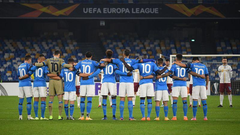 Bewegender Tribut: Napoli-Spieler gedenken Maradona
