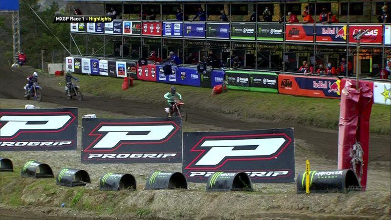 Tim Gajser se proclama campeón del Mundo de MXGP en la 1ª carrera de Pietramurata