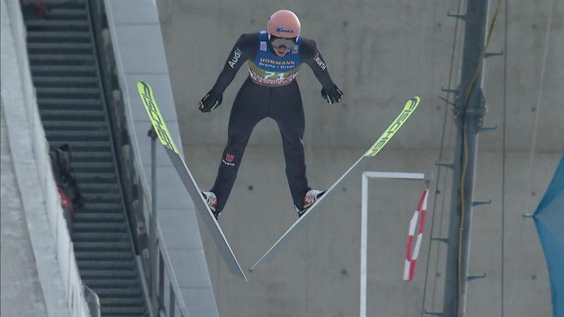 Cuatro Trampolines: Karl Geiger se apunta el tercer puesto en la clasificación de Innsbruck