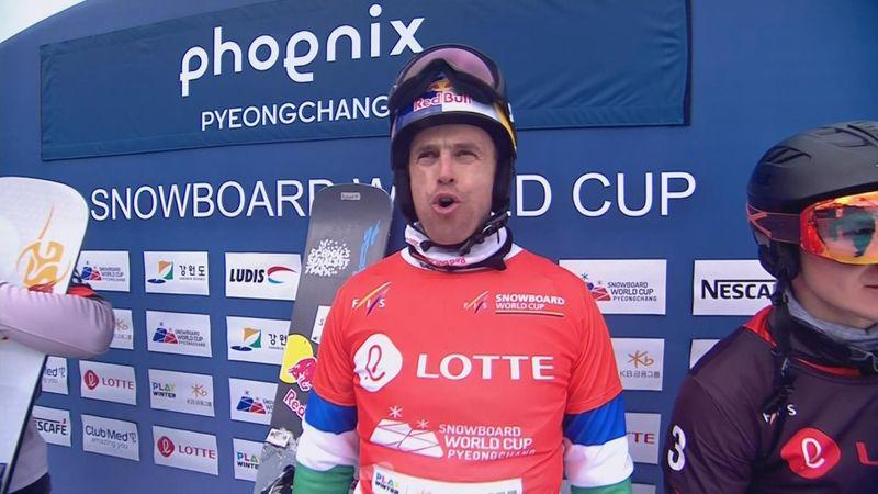 Snowboarding: Veteran Fischnaller wins PGS in Pyeongchang