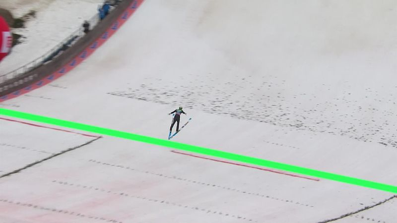 Cea mai lungă săritură a anului, la Planica: Bor Pavlovcic a ajuns la 249,5 metri