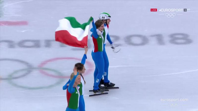 PyeongChang 2018: Fontana, Peretti, Maffei e Valcepina, l'Italia è argento