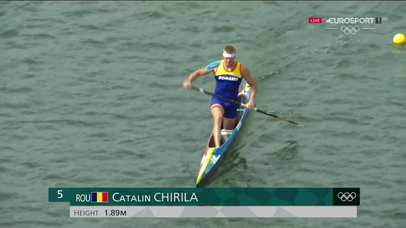 Jocurile Olimpice: Cătălin Chirilă (România), în prima semifinală a probei de 1.000 de metri simplu
