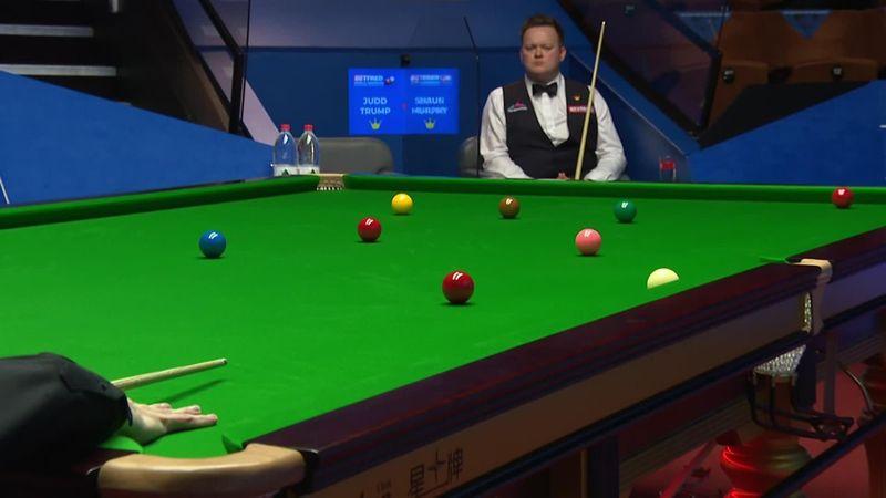 'What a shot' - Judd Trump sinks impressive long red v Shaun Murphy