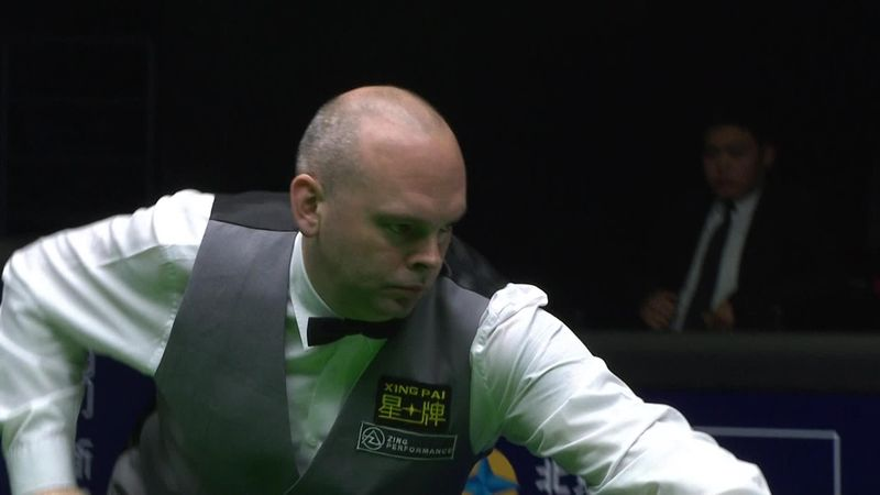 China Open : Snooker - After a 147 in the 7th frame, Bingham never looked back...