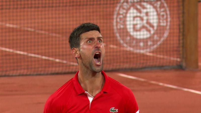 'Wow!' - Watch Djokovic's wild reaction to reaching semis after curfew chaos
