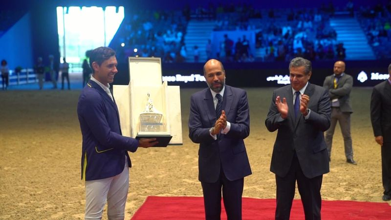 Equestrian - Morocco Royal Tour : Roberto Turchetto win CSI 4 El Jadida