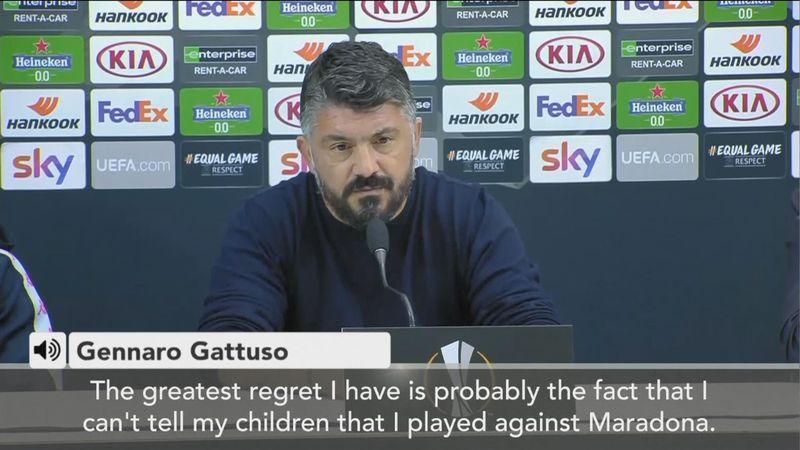 'Diego Maradona will never die' - Gennaro Gattuso on Napoli icon