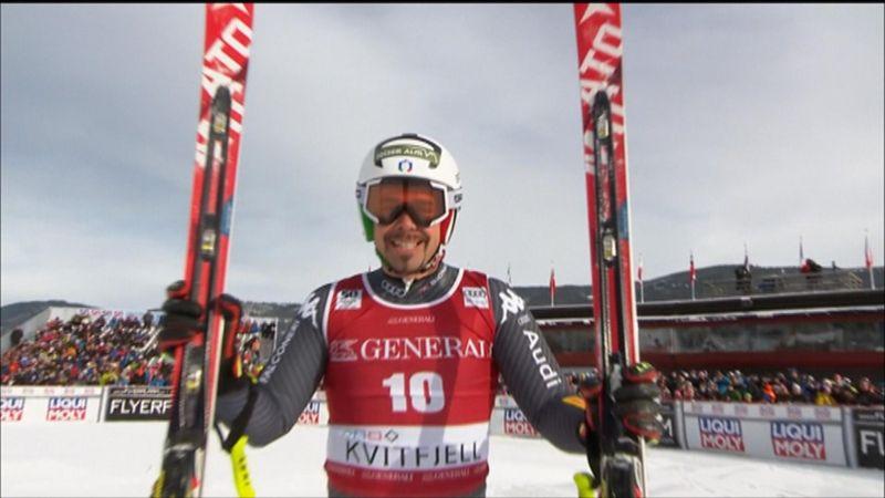 Peter Fill sorprende a sus rivales y conquista el Supergigante de Kvitfjell