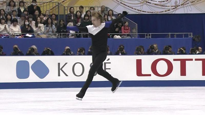 NHK Trophy: Das Kurzprogramm von Sergej Woronow