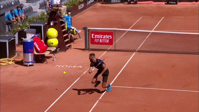 Benoit Paire, punct incredibil la Roma. Cum a ajuns la o minge care l-a depășit