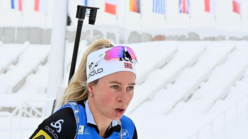 Tiril Eckhoff vence en el esprint de Oberhof