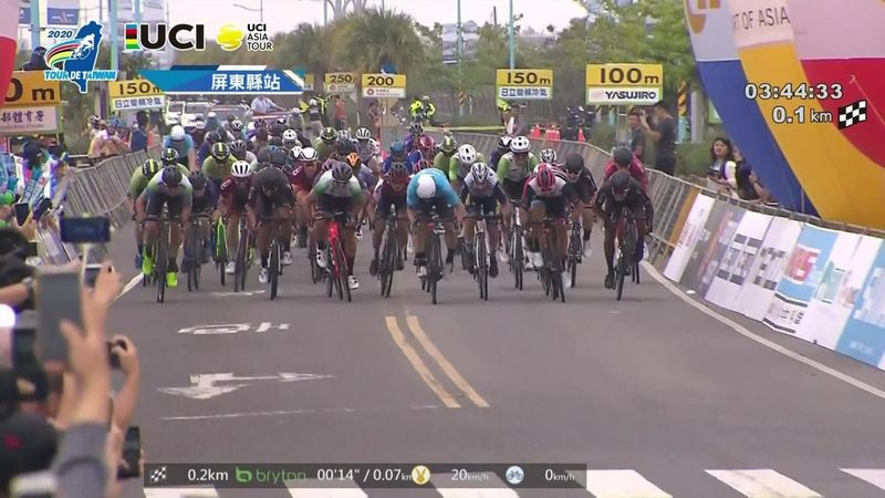 Eric Young snatches victory on stage 4 of Tour de Taiwan
