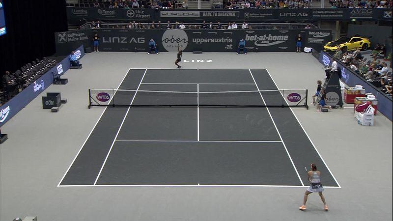 WTA Linz | Gauff finalist na winst tegen Petkovic
