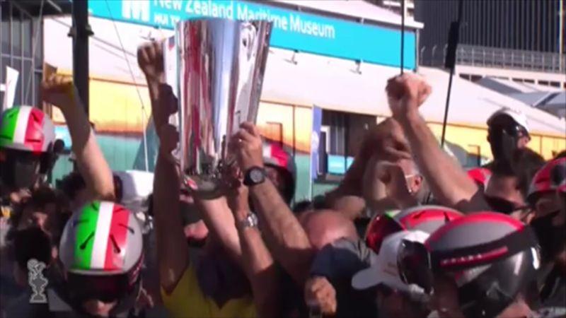 Luna Rossa vince la Prada Cup: gli highlights delle ultime due regate