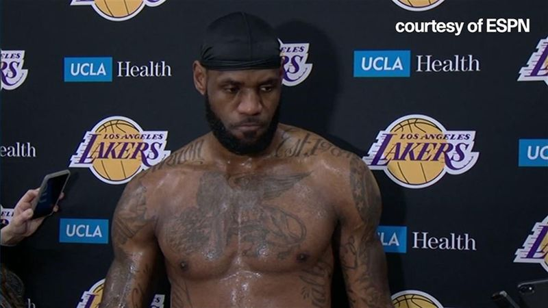 'Legends never die' - LeBron on Kobe Bryant