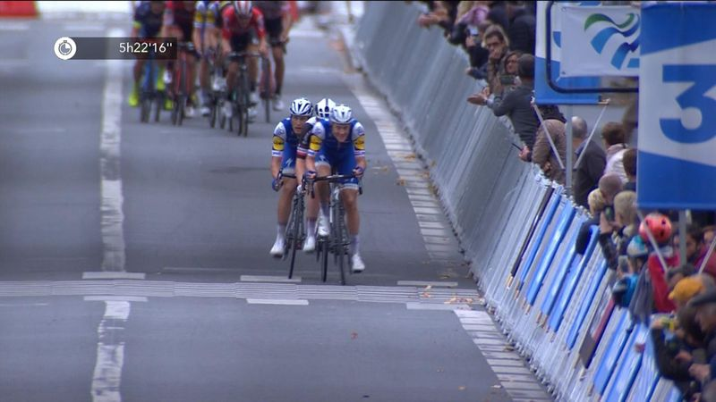 Trentin pips Andersen to victory in Paris - Tours