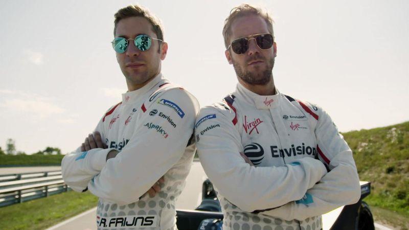 Formule E   Interview met Robin Frijns en zijn ploeggenoot