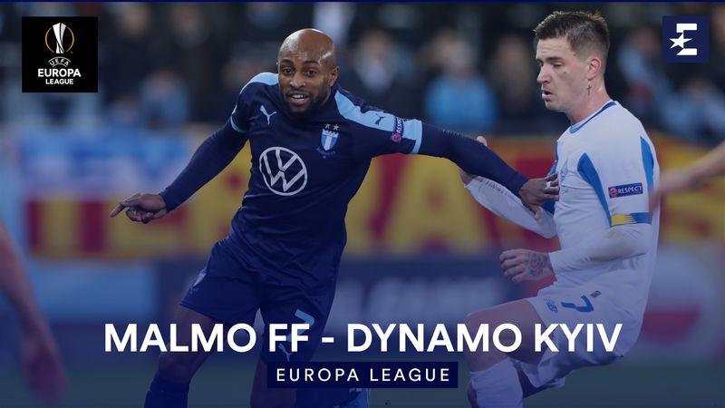 Höjdpunkter : Malmo FF - Dynamo Kyiv