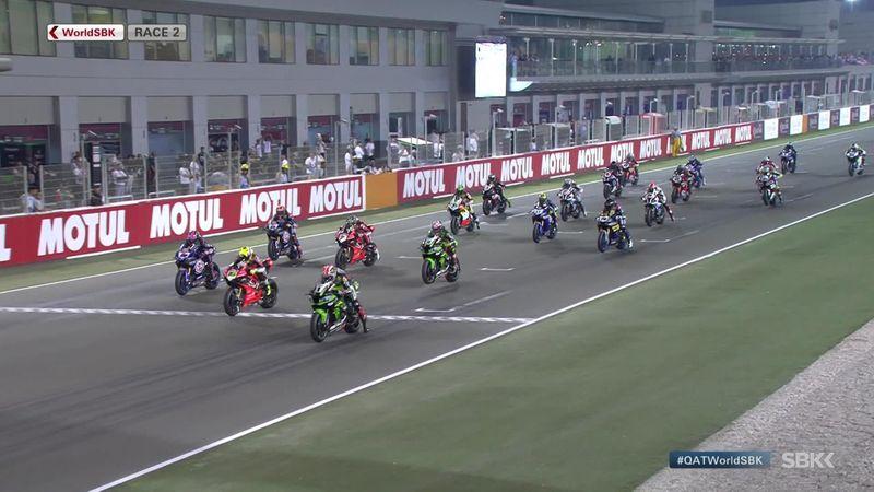 Superbikes Catar: Vídeo resumen de la segunda carrera