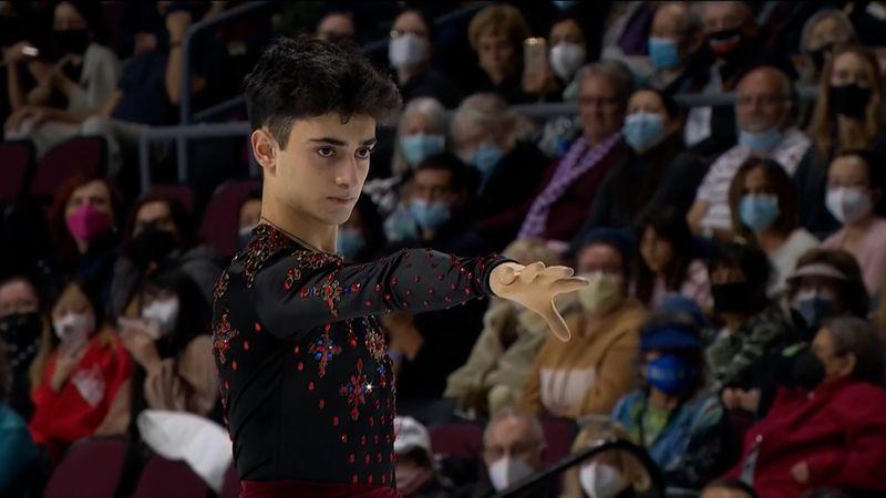 Вице-чемпион Европы из России не упал, но ошибся на всех прыжках