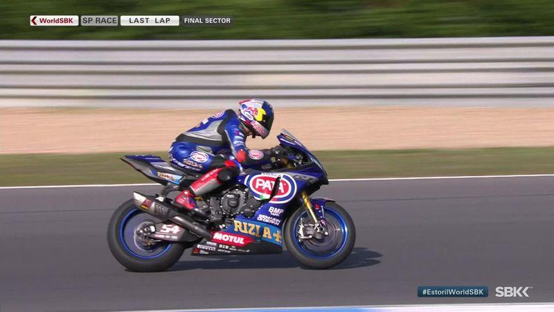 Razgatlioglu leads Yamaha 1-2-3 in Superpole race
