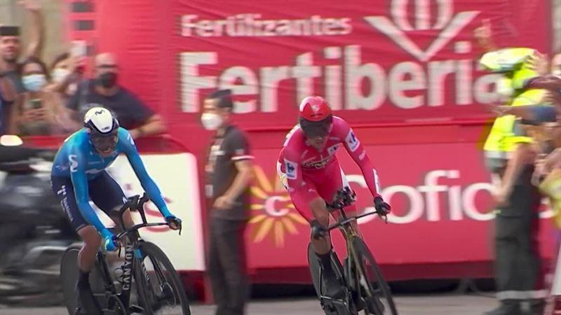 Mas düpiert: Hier stürmt Roglic zum dritten Vuelta-Gesamtsieg