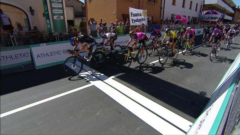 Wiebes zum Zweiten - das Finale der 8. Etappe beim Giro Donne