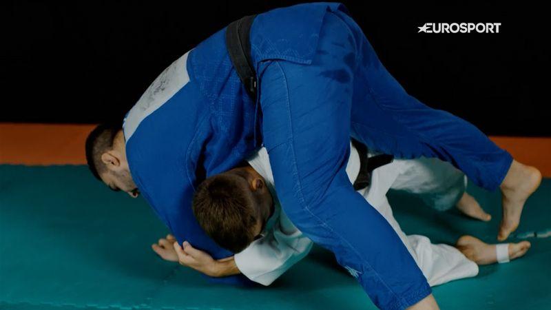 Zoom: Italy's Manuel Lombardo gives judo masterclass