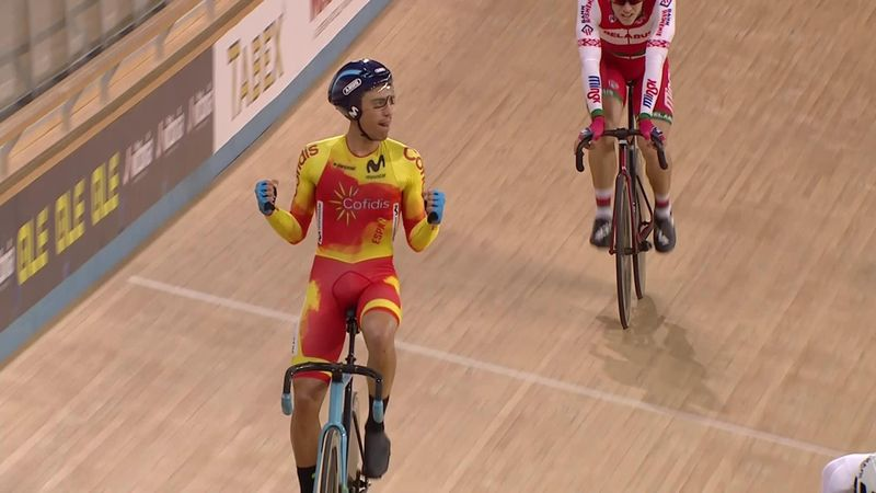 Spain claim men's madison