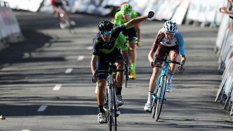 Valverde til topps på den femte etappen av Baskerland rundt