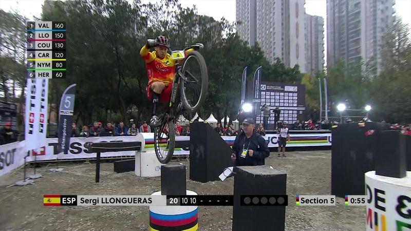 Mountain bike, Mundial de Chengdu: Sergi Llongueras se proclama campeón de Trials en Elite 26