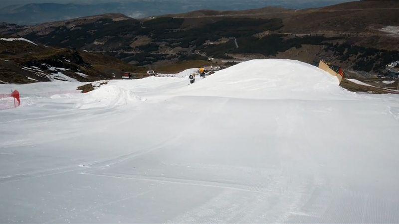 Copa del Mundo de Snowboardcross: El análisis al detalle de la pista de Sierra Nevada
