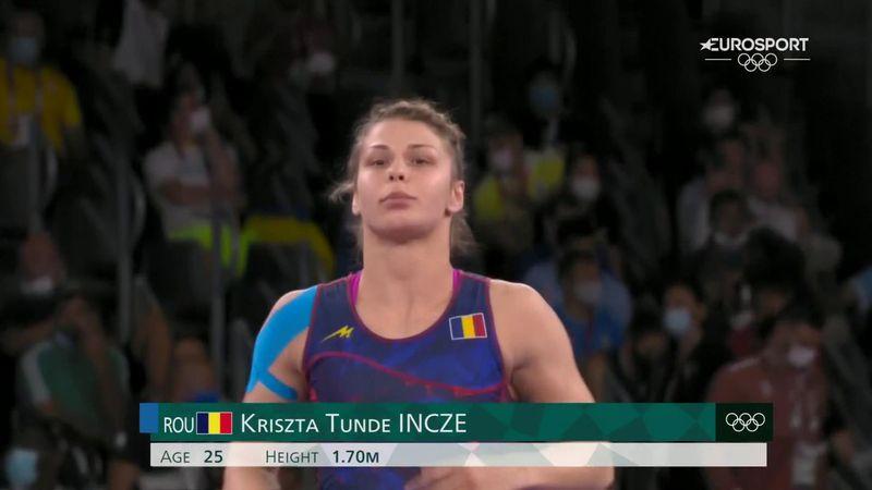 Jocurile Olimpice: Krista Incze s-a oprit în sferturi, după o prestație excelentă