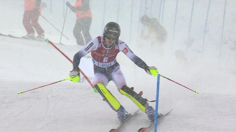 Wereldbeker Levi | Noël zet snelste tijd neer in eerste run