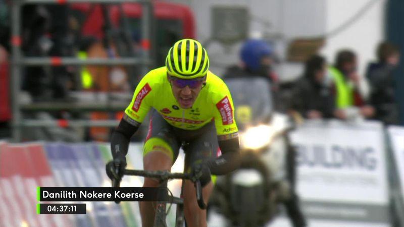 Heroica victoria de Ludovic Robeet culminando la escapada inicial