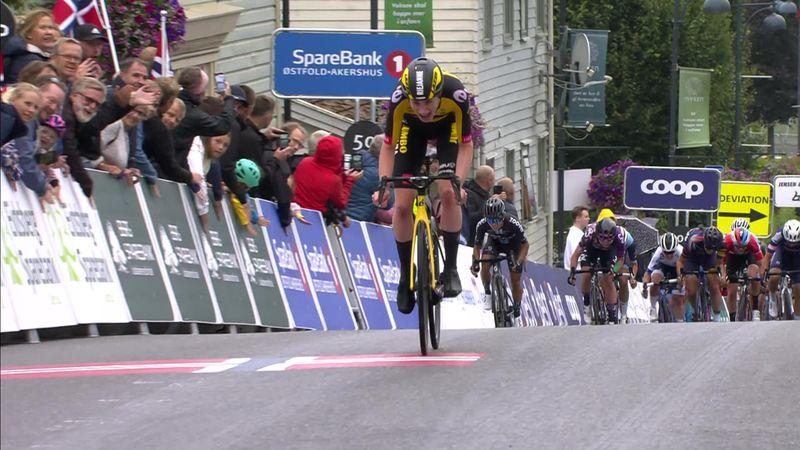 Ook Markus blijft peloton voor in Noorwegen en boekt eerste World Tour-zege